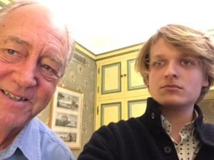 Grégoire Canlorbe with Patrick Moore