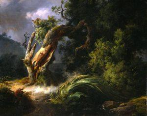 Le_Chêne_et_le_Roseau_Achille_Michallon_1816